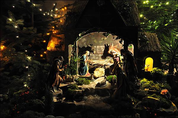 Santons et crèches de Noël  Creche