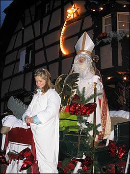 Quand rencontrer le saint nicolas en alsace en 2017 - Marche de noel en alsace 2017 ...